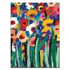Artist Lane Magic Poppies 2 by Anna Blatman Art Print on Canvas