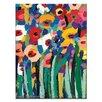 """Artist Lane Leinwandbild """"Magic Poppies 2"""" von Anna Blatman, Kunstdruck"""