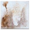 "Artist Lane Leinwandbild ""Encaustic 9"" von Gill Cohn, Kunstdruck"