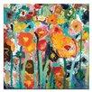 """Artist Lane Leinwandbild """"Palette Poppies"""" von Anna Blatman, Kunstdruck"""