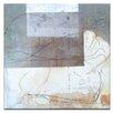 "Artist Lane Leinwandbild ""Linear Encaustic 1"" von Gill Cohn, Kunstdruck"