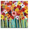 Artist Lane Julies Blooms by Anna Blatman Art Print on Canvas