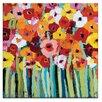 """Artist Lane Leinwandbild """"Julies Blooms"""" von Anna Blatman, Kunstdruck"""