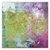 "Artist Lane Leinwandbild ""Pink Square 2"" von Gill Cohn, Kunstdruck"