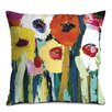 Artist Lane Rainbow Garden Cushion Cover