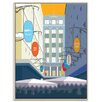 Artist Lane 'Majorca Building' by Alan Annells Framed Graphic Art on Wrapped Canvas