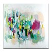 Artist Lane 'Memphis' by Amira Rahim Art Print on Wrapped Canvas