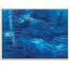 Artist Lane 'Blue Washed' by Rebecca Vincent Art Print Wrapped on Canvas