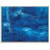 """Artist Lane Leinwandbild """"Blue Washed"""", von Rebecca Vincent, Kunstdruck"""
