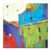 Artist Lane 'Word of Mouth' by Catherine Fitzgerald Art Print on Wrapped Canvas