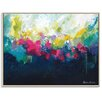 Artist Lane 'Abundance' by Amira Rahim Framed Art Print on Wrapped Canvas
