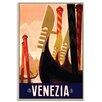 Artist Lane 'Venezia' Graphic Art Wrapped on Canvas