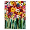 Artist Lane 'Lisa Blooms' by Anna Blatman Art Print Wrapped on Canvas