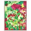 Artist Lane 'Vertical Garden' by Josie Nobile Art Print Wrapped on Canvas