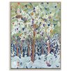 Artist Lane 'Glimpse of Paradise' by Catherine Fitzgerald Framed Art Print on Wrapped Canvas