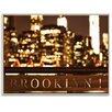 Artist Lane Gerahmtes Leinwandbild Brooklyn Bubbly von Andrew Paranavitana, Fotodruck