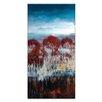 Artist Lane 'Winter Drop' by Lydia Ben-Natan Art Print on Wrapped Canvas