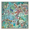 Artist Lane 'Empiezo a Ver 2' by Lia Porto Framed Art Print on Wrapped Canvas