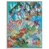 """Artist Lane Gerahmtes Leinwandbild """"Las Cotorras"""" von Lia Porto, Kunstdruck"""