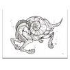 Artist Lane 'Sea Horse' by Olena Kosenko Graphic Art on Wrapped Canvas