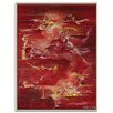 Artist Lane 'Night Life in China' by Lou Sheldon Art Print Wrapped on Canvas