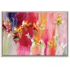 Artist Lane 'April Blooms' by Amira Rahim Art Print on Wrapped Canvas