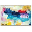 Artist Lane 'Lipstick lover' by Amira Rahim Framed Art Print on Wrapped Canvas