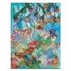 Artist Lane 'Las Cotorras' by Lia Porto Art Print on Wrapped Canvas