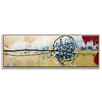 Artist Lane 'Chemistry Art Boards' by Julie Ahmad Framed Art Print on Wrapped Canvas