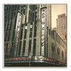 Artist Lane 'Radio City' by Andrew Paranavitana Photographic Print Wrapped on Canvas