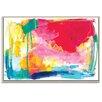 Artist Lane 'Flex-zone' by Amira Rahim Framed Art Print on Wrapped Canvas