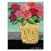 Artist Lane 'Patricia's Pot' by Anna Blatman Art Print Wrapped on Canvas