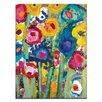 Artist Lane 'Wendy's Wonders' by Anna Blatman Art Print Wrapped on Canvas