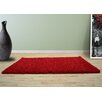UK Furnishing UK Ltd Opus Shag and Flokati Red Area Rug