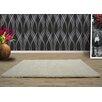 UK Furnishing UK Ltd Opus Shag and Flokati Ivory Area Rug (Set of 5)