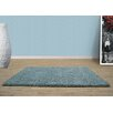 UK Furnishing UK Ltd Opus Shag and Flokati Duck Egg Area Rug
