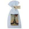 Golden Hill Studio Paris Stamp Flour Sack Towel (Set of 3)