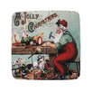 Golden Hill Studio Jolly Workshop Coaster (Set of 8)