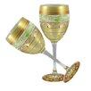 Golden Hill Studio Mosaic Garland Wine Glass (Set of 2)