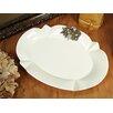 D'Lusso Designs 2 Piece Oval Platter with Deluxe Metal Grape Design Set