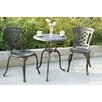 Darlee New Port 3 Piece Bistro Set