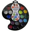 RUBY RED PAINT, INC. 16 Color Artist's Palette