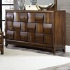 Homelegance Porter 6 Drawer Dresser with Mirror