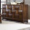 Homelegance Porter 6 Drawer Dresser with Mirror