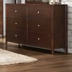 Homelegance Cullen 6 Drawer Dresser with Mirror