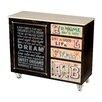 Homelegance Amara 4 Drawer, 1 Door Cabinet
