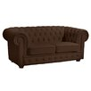 Max Winzer 2-Sitzer Chesterfield Sofa Bridgeport