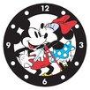 "Vandor LLC Disney Mickey and Minnie 13.5"" Wall Clock"