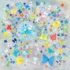 Wheatpaste Art Collective 'Butterfly Swirl' by Donna Ingemanson Painting Print on Canvas
