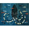 Wheatpaste Art Collective 'Kraken of The Deep Blue' by Brian Love Graphic Art on Canvas